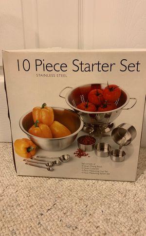 10 piece kitchen starter set for Sale in Crofton, MD