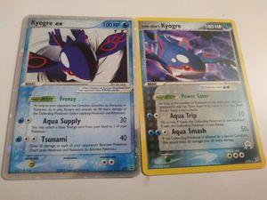 Kyogre Pokemon cards for Sale in Tucson, AZ
