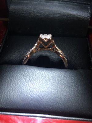 10 kt rose gold engagement ring for Sale in Arlington, TX