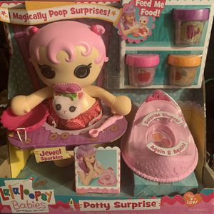 Lalaloopsy Potty Surprise for Sale in Worcester, MA