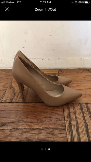 Nude pumps size 8 for Sale in New York, NY