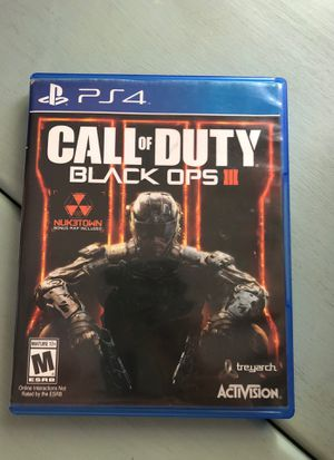 Call of duty black ops 3 for Sale in Redondo Beach, CA