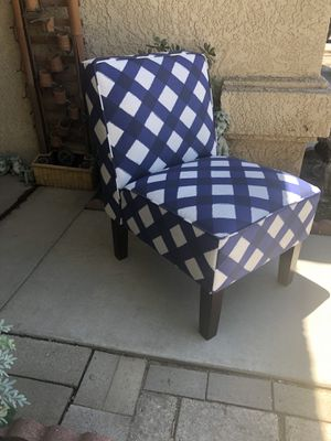 Brand new colorful contemporary style accent chair. Retails for over $260 for Sale in Fowler, CA