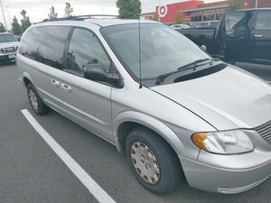 ($2200 obo) 2001 Chrysler Town and Country Van for Sale in Tacoma, WA