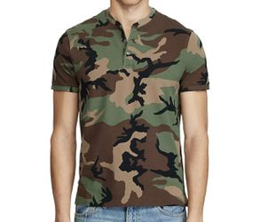 Polo Ralph Lauren Mens Camo Camouflage Henley Shirt Size XXL for Sale in Annandale,  VA