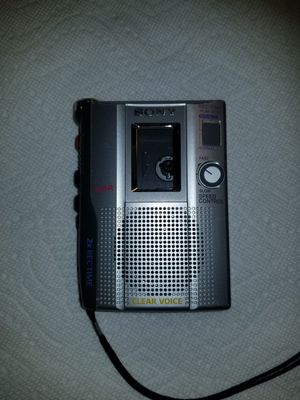 Sony Voice Recorder TCM-200DV PRO AUDIO Handheld Cassette Player for Sale in Jersey City, NJ