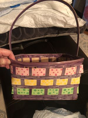EASTER baskets and plastic eggs for Sale in Apopka, FL