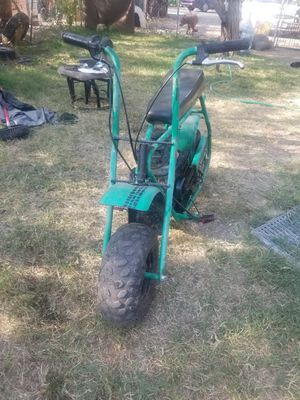 Baja mini-bike comes with a bigger Predator motor im throwing in with it for Sale in Stockton, CA