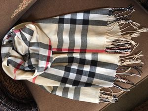 Scarf checked like Burberry for Sale in Melbourne, FL