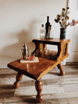 Vintage Bar Cart or Side Table for Sale in Los Angeles, CA