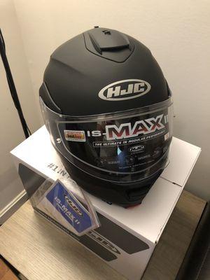 Black HJC Full-Face Motorcycle Helmet for Sale in Annandale, VA