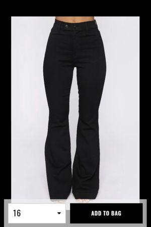 Fashion Nova Flare Jeans for Sale in Dinuba, CA