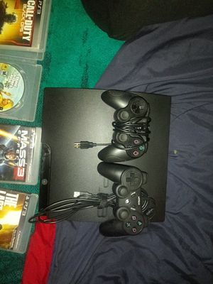 PlayStation 3 with games extra controller and headset. for Sale in Wrightsville, PA