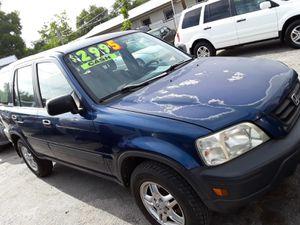 HONDA CRV BACK TO SCHOOL SALE $2995 CASH OR CREDIT $1400 DOWN NO CREDIT CHECK for Sale in San Antonio, TX