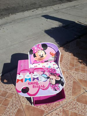 Kids mini mouse desk for Sale in El Monte, CA