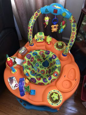 Stationary Jumping Chair & Side-Side Bed for Sale in York, PA