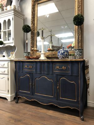 Navy Blue Credenza for Sale in Centennial, CO