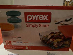 Pyrex Glass Storage Set for Sale in Hyattsville, MD