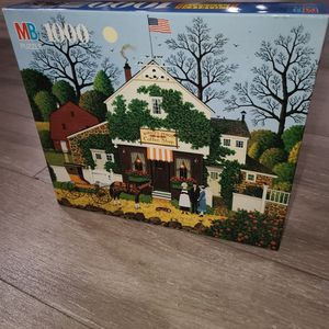 Charles Wysocki SMALL TALK AT BIRDIE'S PERCH Puzzle 1000 Pc for Sale in Rancho Cucamonga, CA