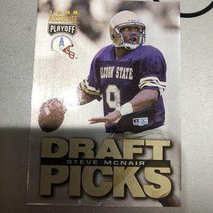 Steve McNair Draft Picks Card #182 for Sale in San Diego, CA