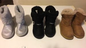 Toddler girls boots & shoes for Sale in Atlanta, GA
