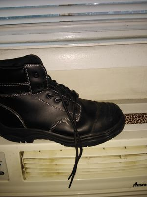 Steel toe boots size 10 for Sale in Washington, DC