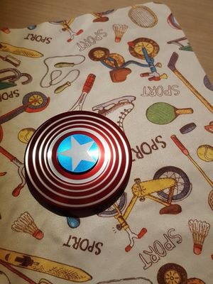Captain America fidget spinner for Sale in West McLean, VA