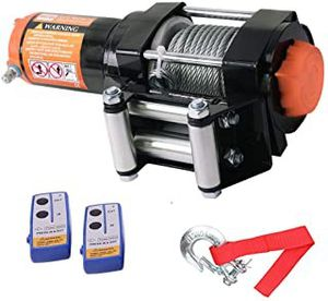 ORCISH 12V 3500LBS/1590kg Electric Winch ATV Kits with 2PCS Wireless Remote Control for 4WD Offroad for Sale in Ontario, CA