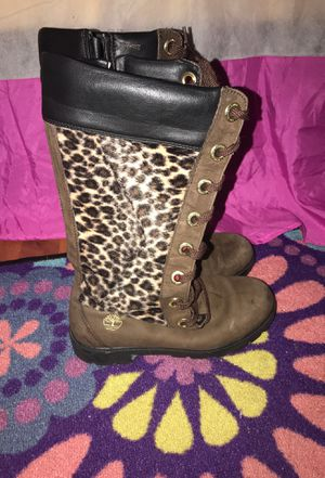 Timberland Cheetah Print Boots for Sale in Miramar, FL