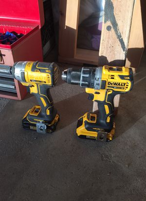 Dewalt drill and impact XR 20v brushless for Sale in San Diego, CA
