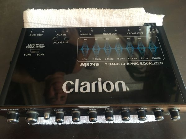 Clarion EQS755 for Sale in San Jose, CA - OfferUp