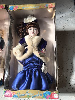 Porcelain doll new never opened the box for Sale in Lincoln Park, MI