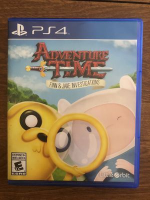 Adventure Time: Finn & Jake Investigations (Sony PlayStation 4 PS4, 2015) for Sale in Santa Clarita, CA