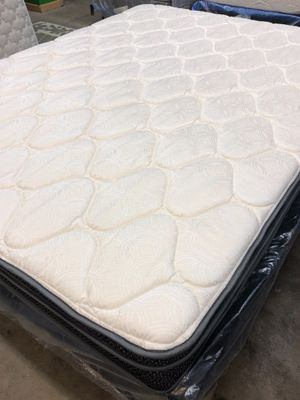 NEVER BEEN USED Queen mattress - New In Plastic! $95 if you pick up TODAY! for Sale in Bismarck, ND