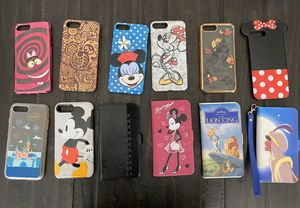Disney parks iPhone 6 7 8 plus phone cases for Sale in Rancho Cucamonga, CA