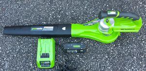 Greenworks 24 volt leaf blower for Sale in Clemson, SC