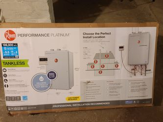 Rheem High Efficiency Indoor Tankless Gas Hit Water Heater for Sale in Bethesda,  MD