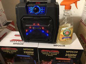 Portable karaoke speaker2500 wants for Sale in San Antonio, TX