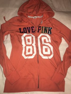 Pink zip up hoodie size Small for Sale in Las Vegas, NV