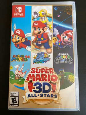 Super Mario 3D All Stars Nintendo Switch Game (BRAND NEW) for Sale in San Bernardino, CA