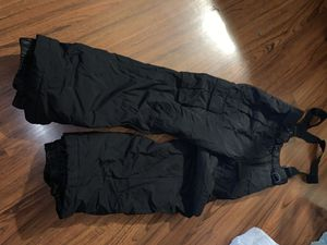 Kids Jumper Snow Pants (sz 12) and Snow Boots (sz Youth 3) for Sale in Los Angeles, CA