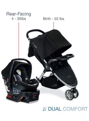 Baby car seat and Stroller set for Sale in Inglewood, CA