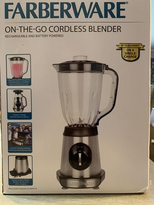 Farberware Cordless Blender for Sale in Arlington Heights, IL