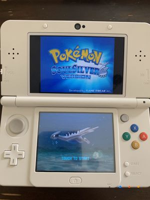 Nintendo 3DS New White Mario Edition modded with many games for Sale in Irvine, CA