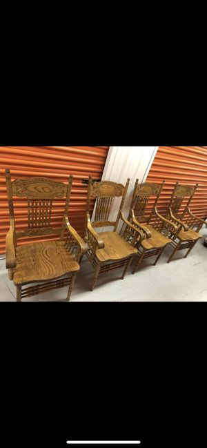 Vintage wooden dining room chairs for Sale in Duluth, GA