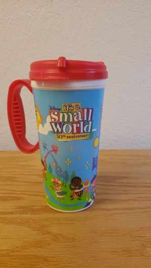 Disney's it's a small world 50th anniversary cup. for Sale in Tucson, AZ