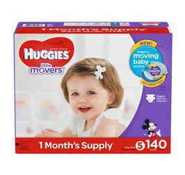 HUGGIES and PAMPERS Diaper's sizes 1-6 PLEASE READ DESCRIPTION for Sale in Vancouver, WA