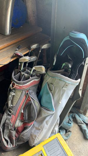 Tommy armour golf clubs and tour logic for Sale in Los Angeles, CA