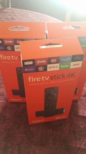 Fire tv stick 4k for Sale in Spring Valley, CA