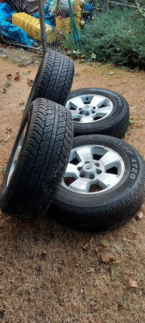 4 brand new Dunlop tires and rims for Sale in Federal Way, WA